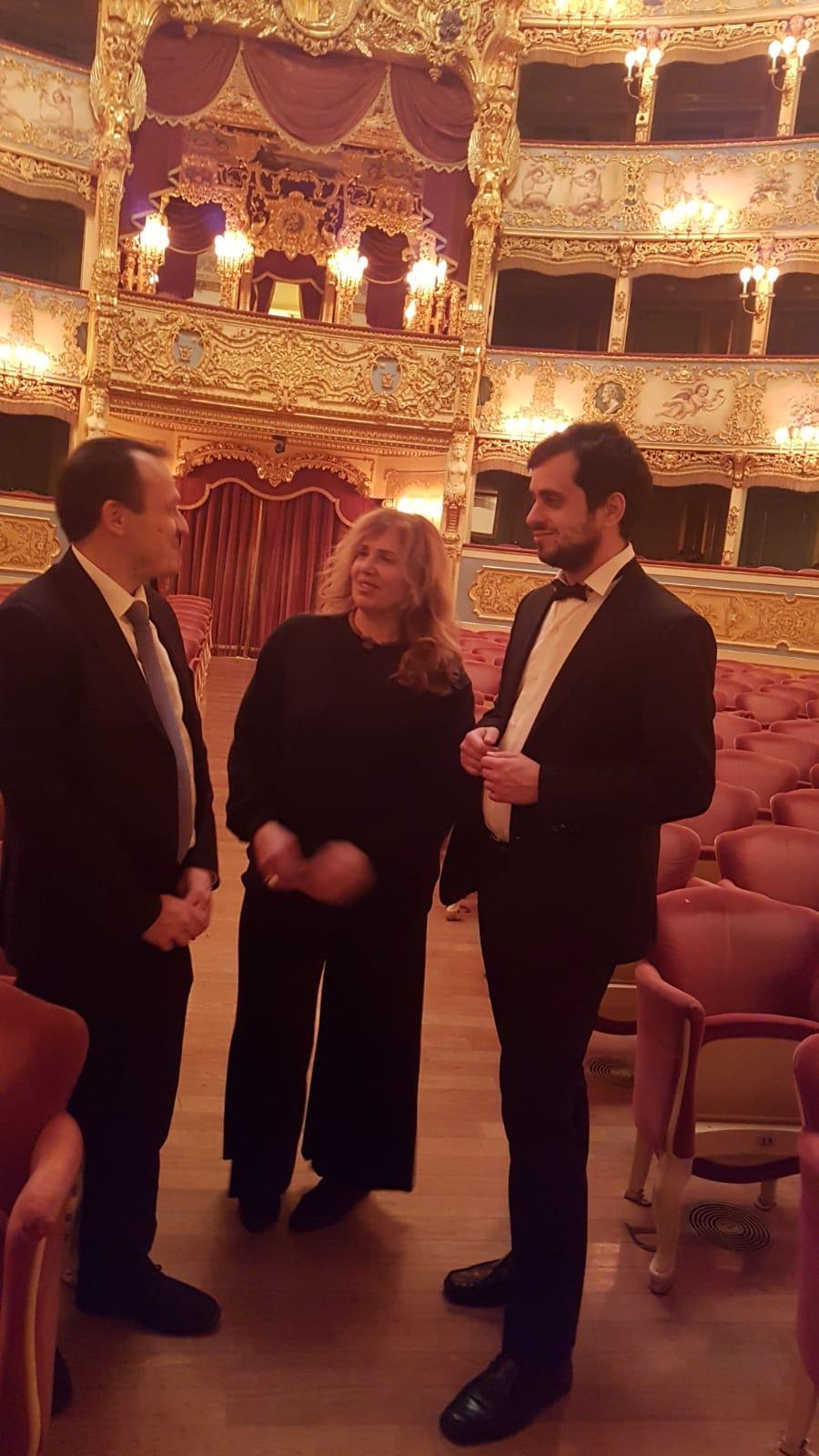 Andrea Tamburelli benefattore del Gran Teatro La Fenice di Venezia